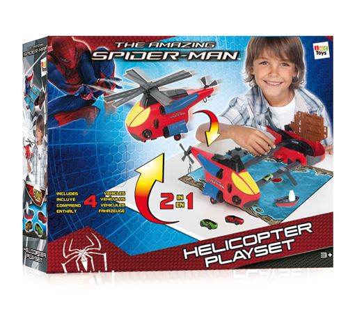 Spiderman helikopter - set za igru