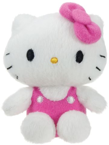 Pliš Hello Kitty, 8 cm, sorto