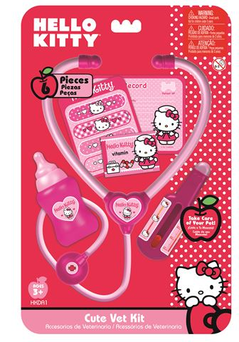 Hello Kitty doktorski set, 6 komada