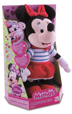 Pliš Minnie Kiss Kiss