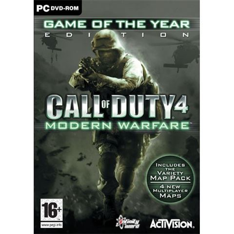 Call Of Duty 4: Modern Warfare GOTY PC