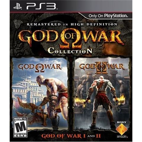 PS3 igra God of War Collection