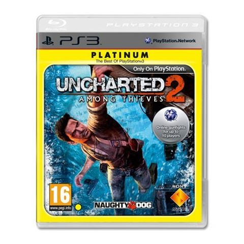 Uncharted 2 Platinum PS3