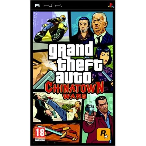 GTA China Town Wars PSP