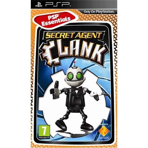 Essentials Secret Agent Clank PSP