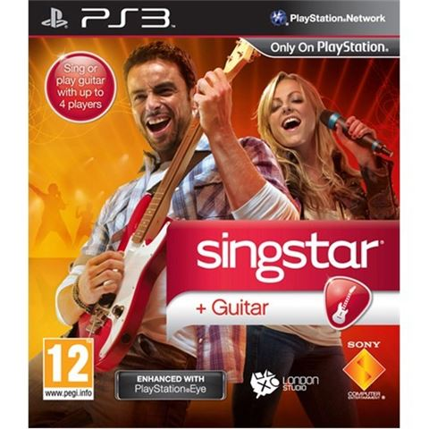 Sing Star Guitar komplet PS3