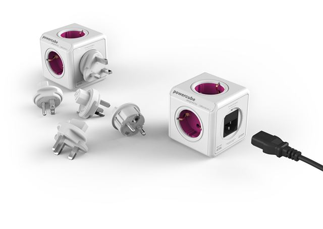 POWERCUBE REWIRABLE + 4 PLUGS