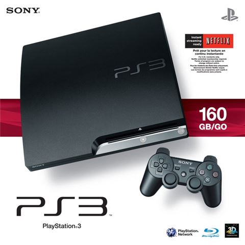 SONY PlayStation 3 160 GB K chassic