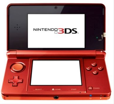 Nintendo 3DS Metallic Red konzola