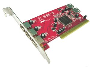 Lycom PCI TO USB 2.0 (NEC chipset) 5Ports Low Profile