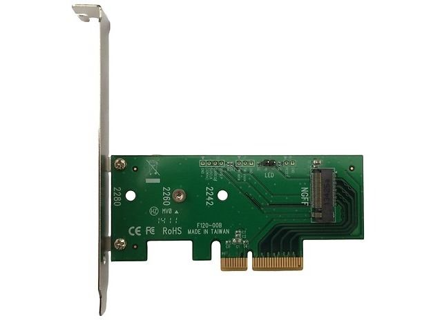 CON LYC PCIe 3.0x4 adapter for M.2