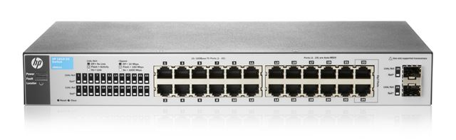 HP switch web upravljivi, 1810-24 V2