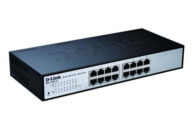 D-Link switch  web upravljivi DES-1100-16