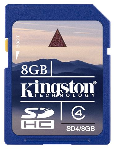 Memorijska kartica Kingston SD 8GB HC Class4