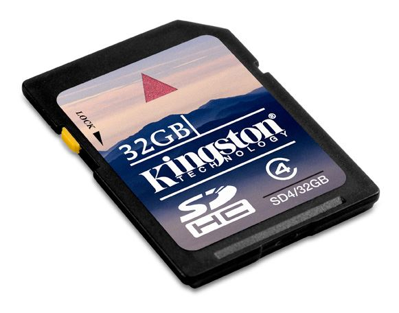 Memorijska kartica Kingston SDHC 32GB Class 4