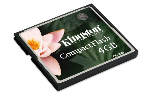 Memorijska kartica Compact Flash Kingston 4GB 133x